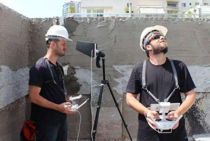 Drones chegam ao setor imobiliário para reduzir tempo de obras e ajudar na inspeção predial