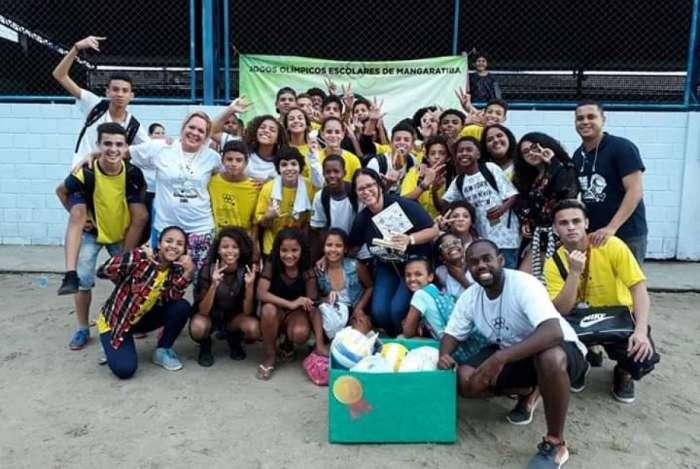 Instituição de ensino conquista competição estudantil de Mangaratiba