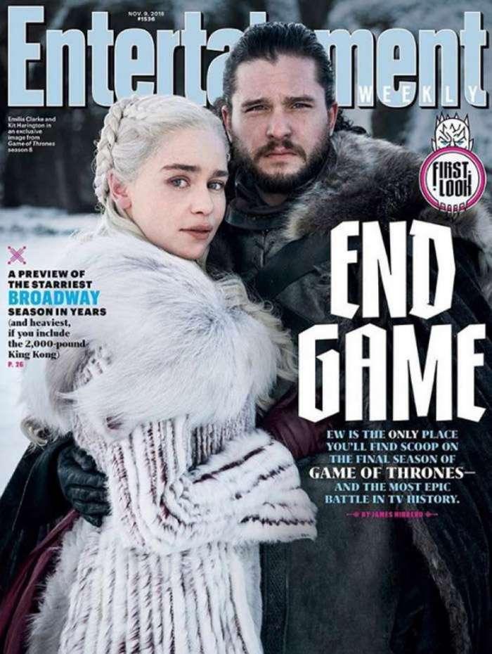 Revista mostra primeira foto oficial da última temporada de 'Game of Thrones'