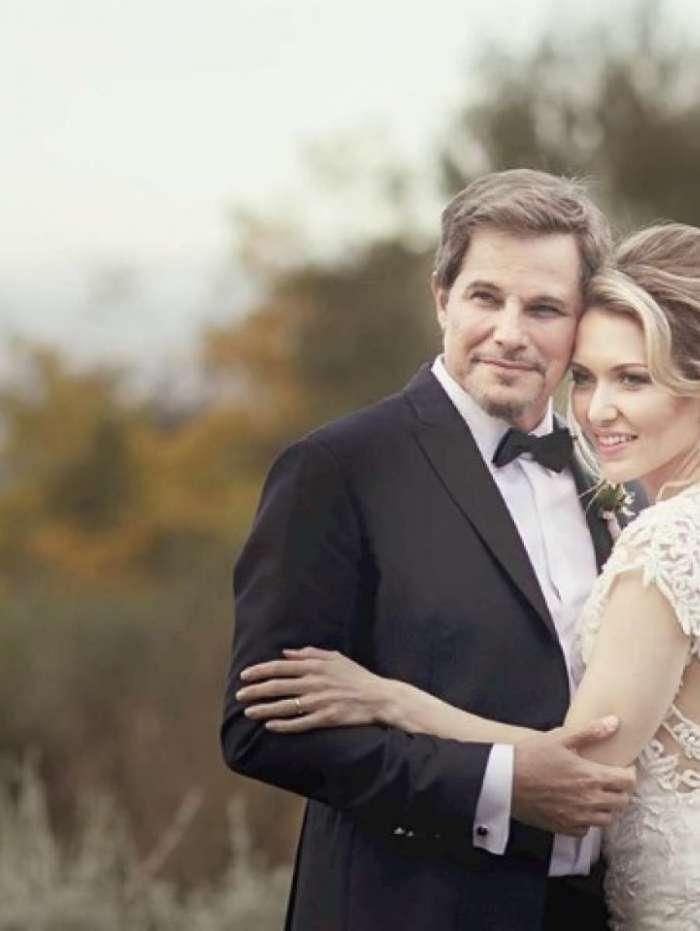 Edson Celulari e a esposa, Karin Roepke
