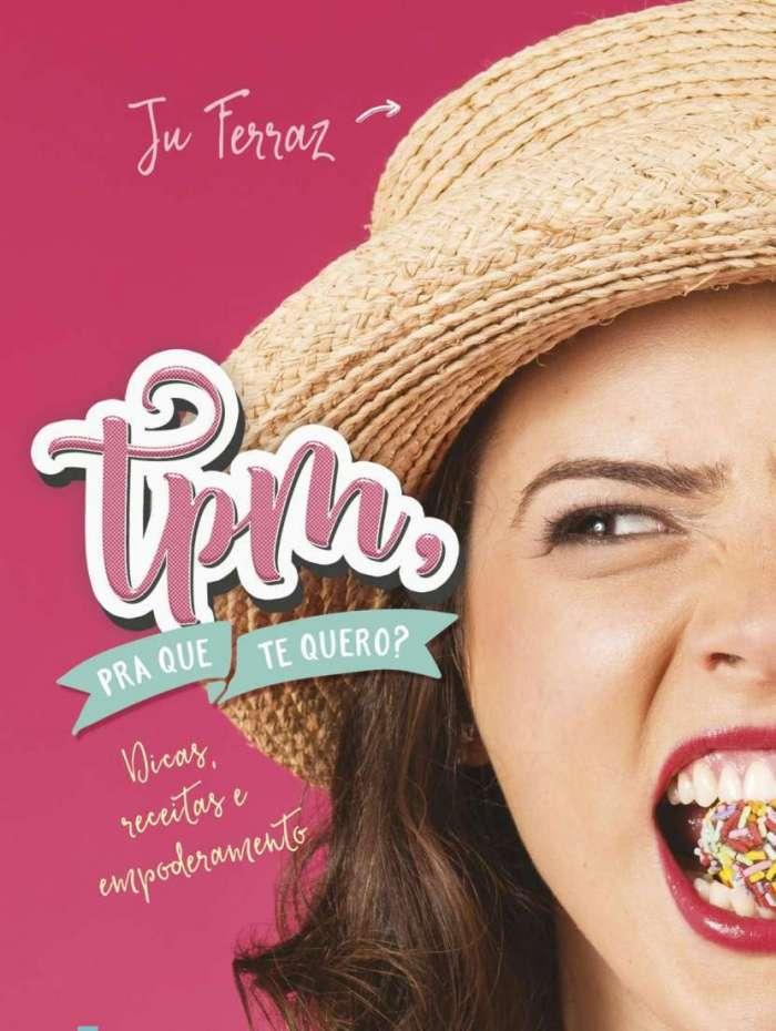 Capa do livro de Ju Ferraz