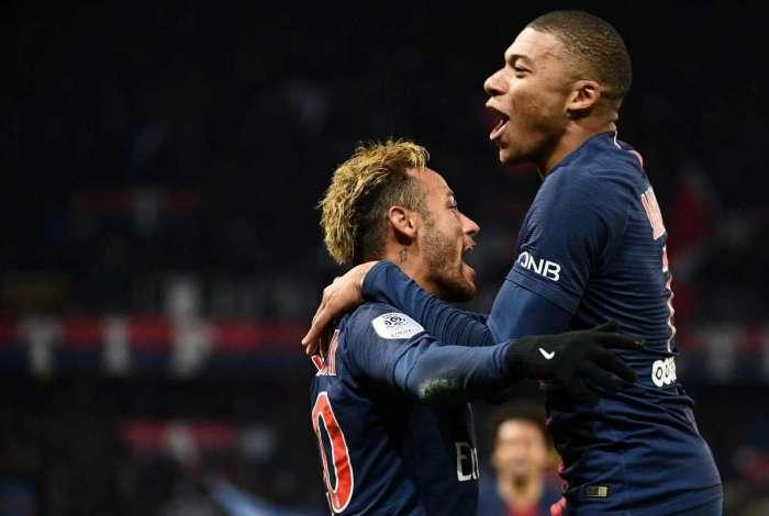Neymar e Mbapée