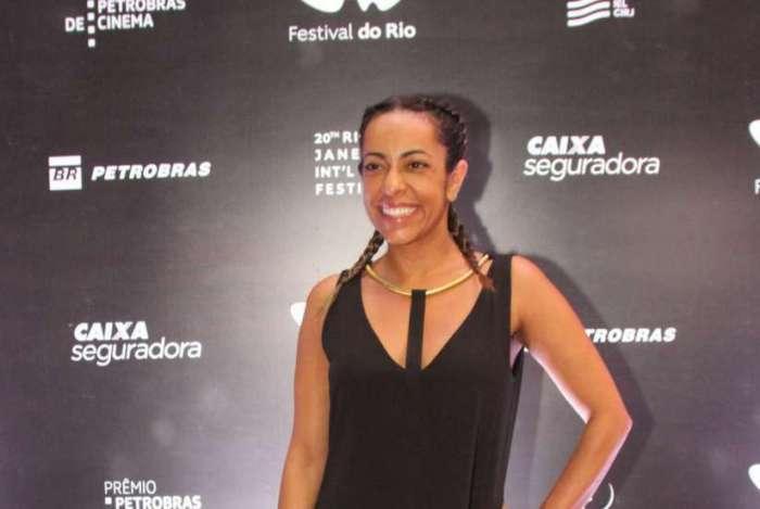 03/11/2018 - AGÊNCIA DE NOTÍCIAS/PARCEIRO - A atriz Samantha Schümtz, participa da pré-estreia do filme