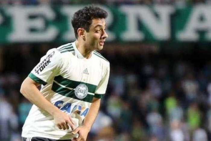Daniel jogou pelo Coritiba em 2017