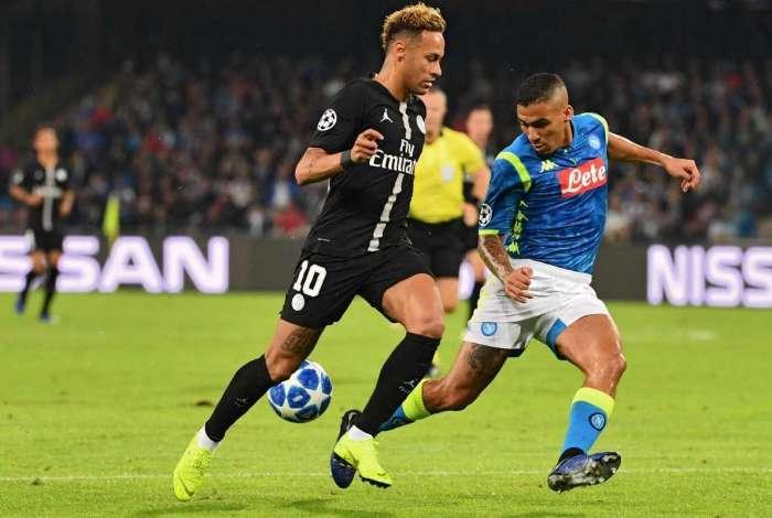 Allan se destacou ao marcar Neymar na Liga dos Campeões