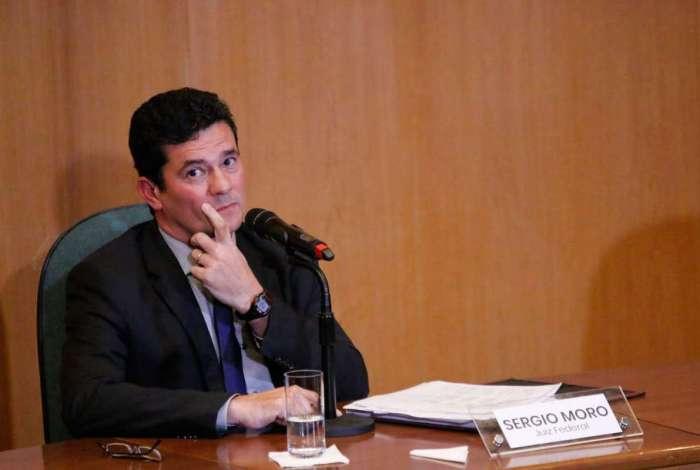 Ministro Sergio Moro desmarcou depoimento que faria na Câmara dos Deputados amanhã. Foto: Gisele Berthier/Parceiro/Agência O Dia