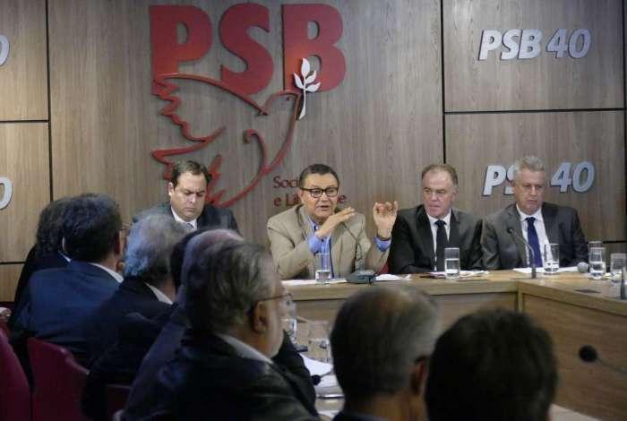 O presidente do PSB, Carlos Siqueira