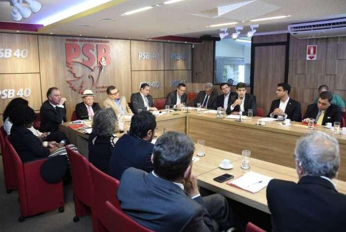 Reunião da executiva nacional do PSB