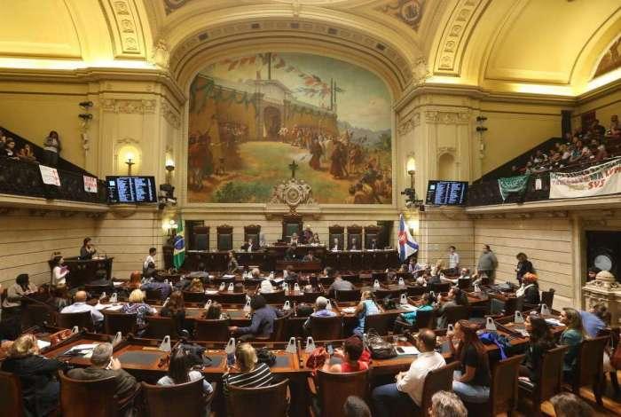 Em sessão que ocorreu na última terça-feira, na Câmara do Rio, vereadores aprovaram proposta