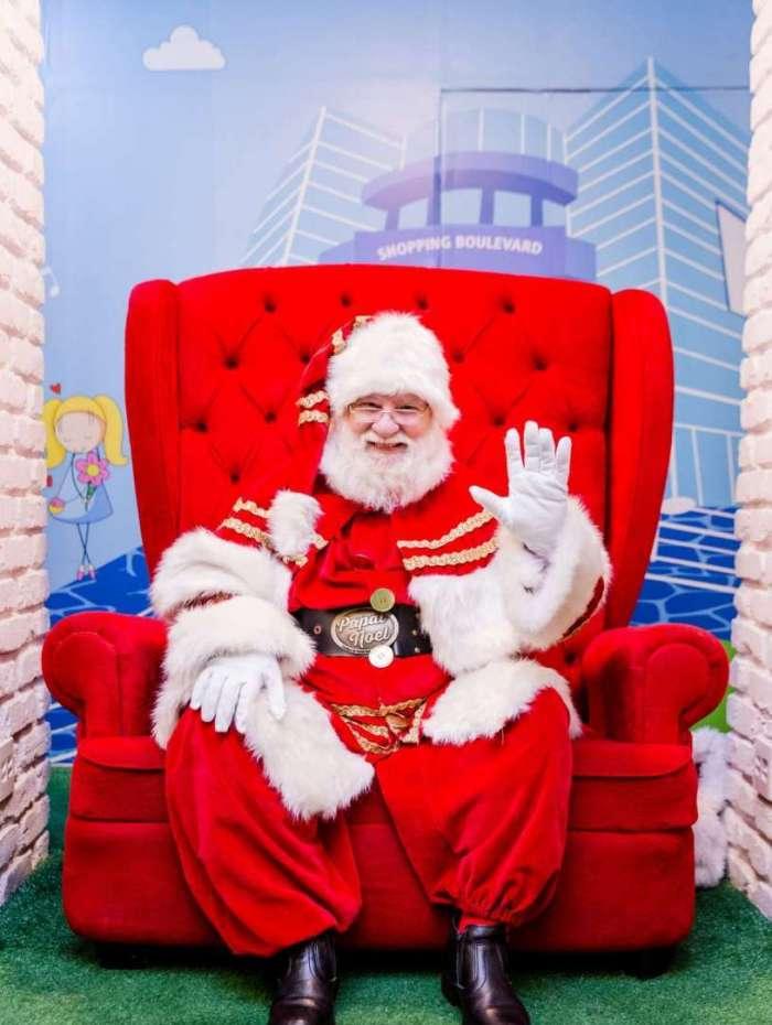 Papai Noel e parada natalina já chegaram no Shopping Boulevard