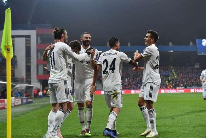 Real Madrid venceu na Liga dos Campeões