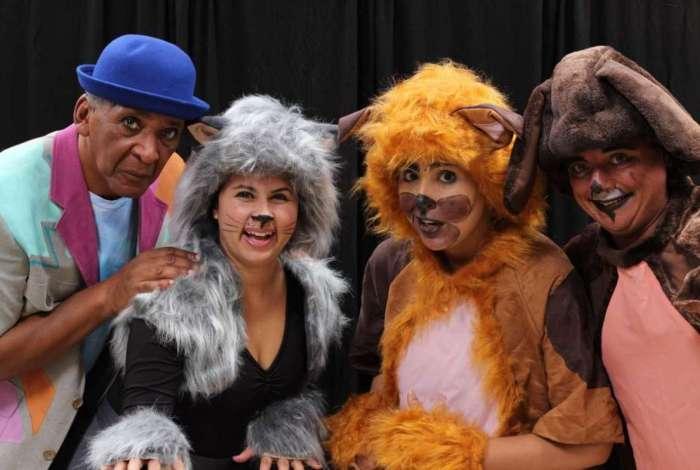 Um dos espetáculos na grade de programação do Scena Serra será o 'Mundo Cão', da Cia. Onírica. Evento ficará em cartaz até domingo