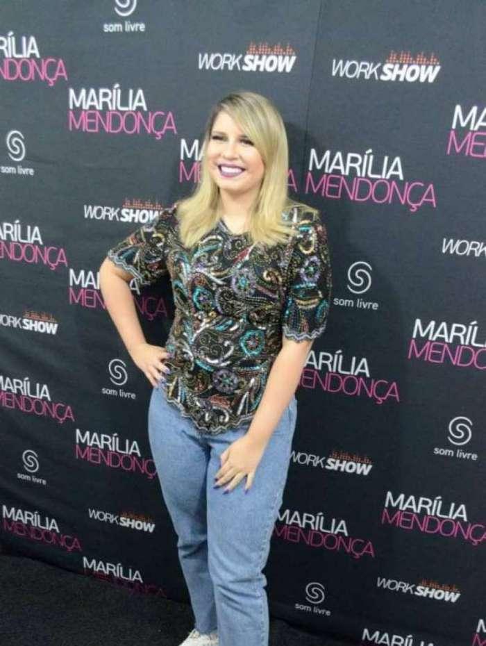 Marília Mendonça faz show no Rio