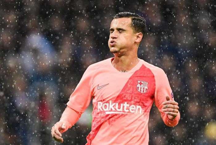 Philippe Coutinho não vive grande fase no Barcelona