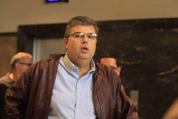 O deputado André Corrêa chegou a ficar preso preventivamente por um ano. Ele disse que vai reassumir o mandato ao longo da semana que vem