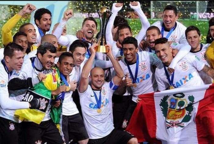 Corinthians conquistou o Mundial de 2012