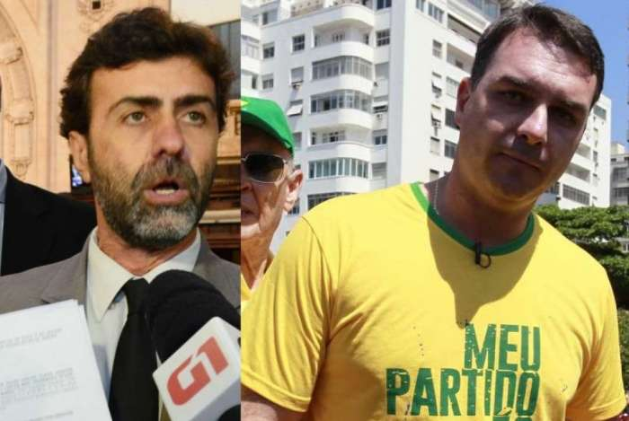 Marcelo Freixo e Flavio Bolsonaro conviveram como deputados estaduais na Alerj