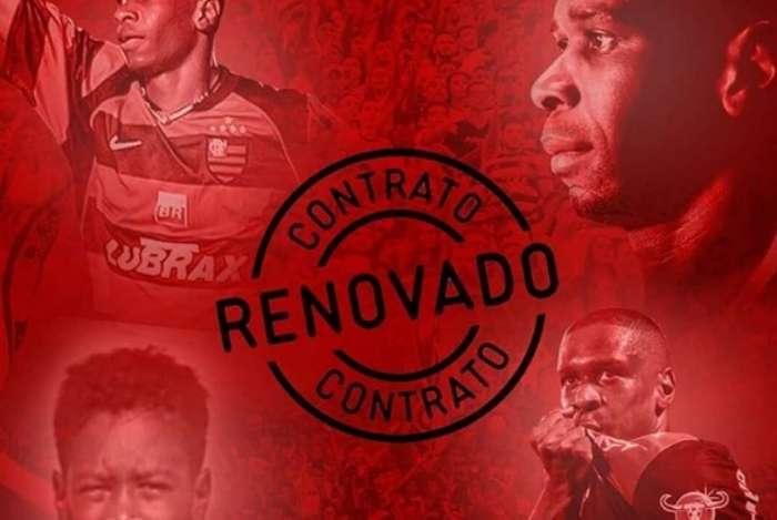 Juan renovou com o Flamengo