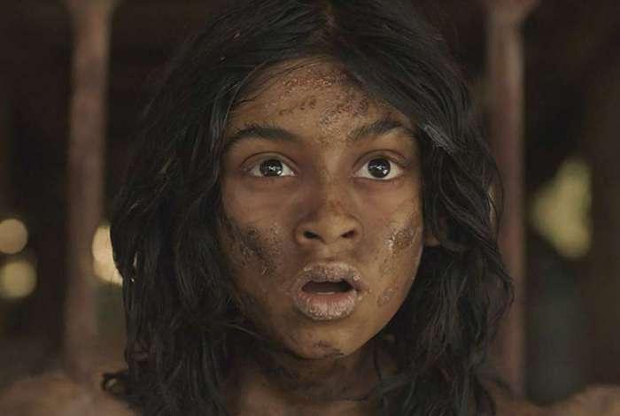 Rohan Chand como o nemino 'Mogli' na nova produção da Netflix