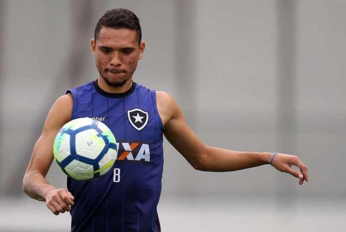 Luiz Fernando.Treino do Botafogo no Estadio Nilton Santos. 06 de Novembro de 2018, Rio de Janeiro, RJ, Brasil