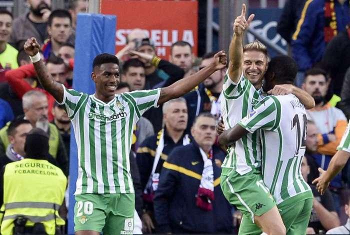 Betis levou a melhor sobre o Barcelona 8504ac5191101