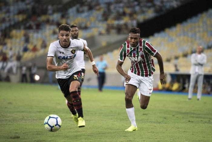Fluminense empatou com o Sport por 0 a 0