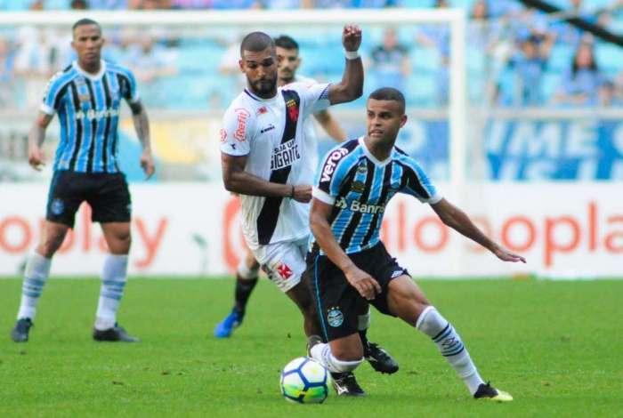 Vasco foi derrotado pelo Grêmio