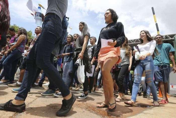 Ministro da Educação, Rossieli Soares, explicou que a prova, após elaborada, fica em uma sala-cofre e só deixa o local para ser levada para a gráfica, escoltada por policiais federais