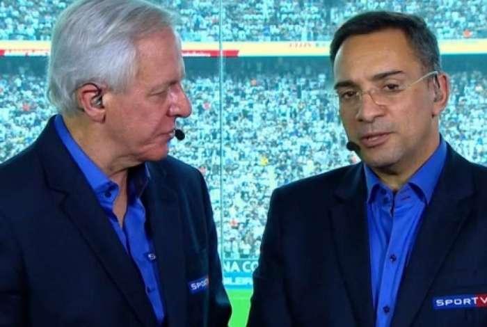 Milton Leite e Mauricio Noriega