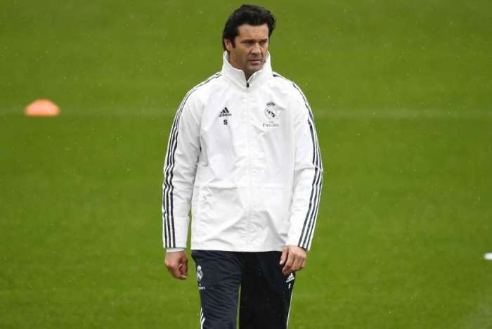 Solari, técnico do Real Madrid