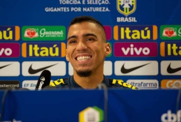 Allan foi convocado pela Seleção em 2018