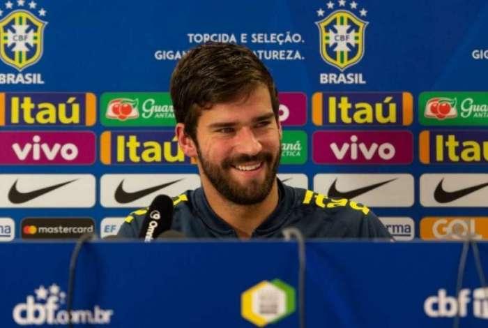 Goleiro Alisson garante Seleção já focada na conquista da Copa ... be918e2e6df60
