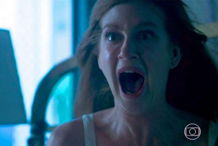 Marina Ruy Barbosa em cena do primeiro capítulo de 'O Sétimo Guardião'