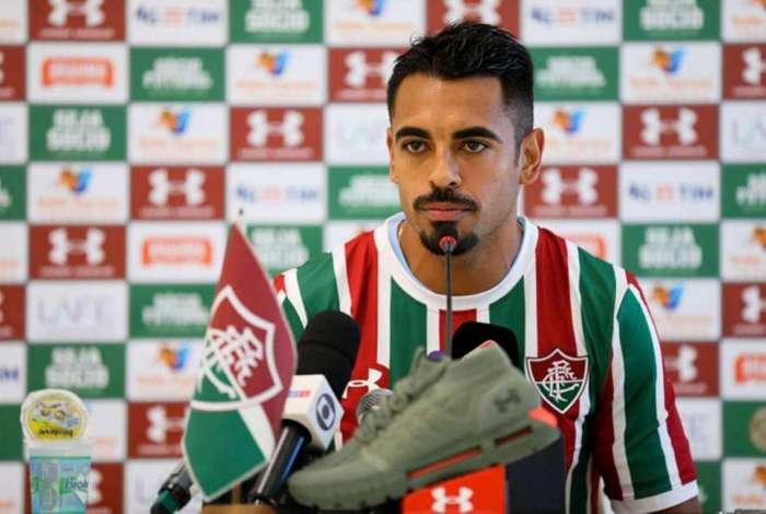 Júnior Dutra, atacante do Fluminense