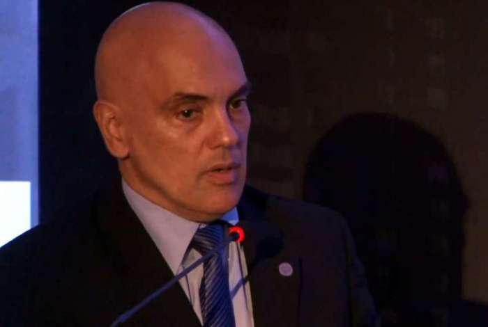 Alexandre de Moraes em discurso na abertura do 20º Congresso Brasileiro de Direito Notarial e de Registro