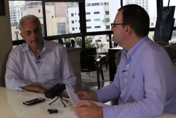 Marcelo Bonfá entrevista William Waack