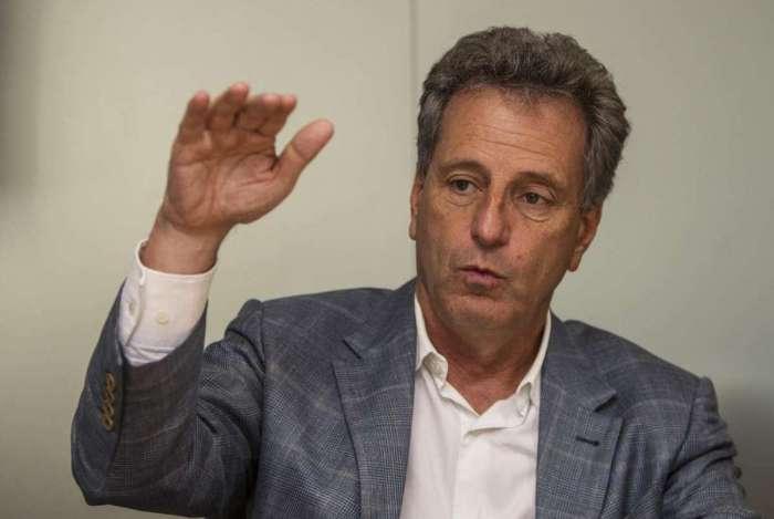 Rodolfo Landim, presidente eleito do Flamengo