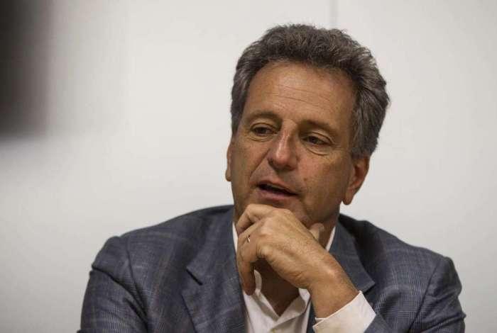 Rodolfo Landim, novo presidente do Flamengo