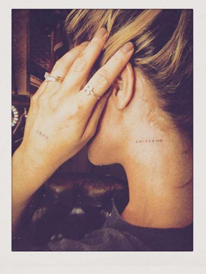 Giovanna Ewbank mostra tatuagem em homenagem a filha, Titi