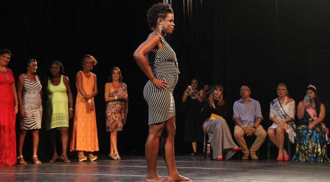 Concurso Miss Rua, no Imperator
