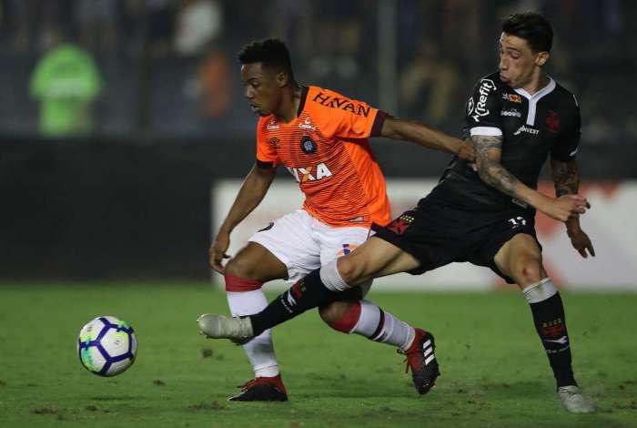 Vasco empatou com o Atlético-PR