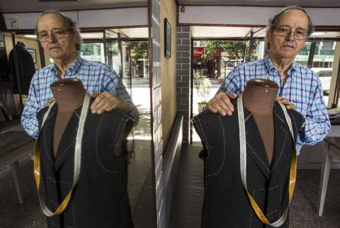 Abel Gomes: 60 anos de atividade ininterrupta e filho desembargador como modelo de ternos