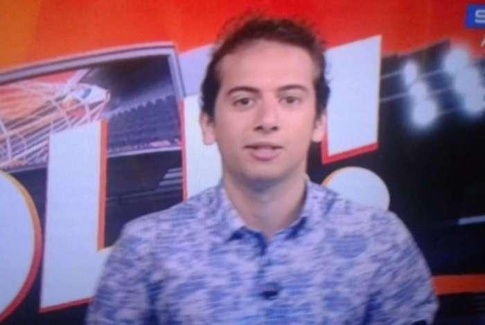 Lucas Strabko está suspenso das telinhas da Globo