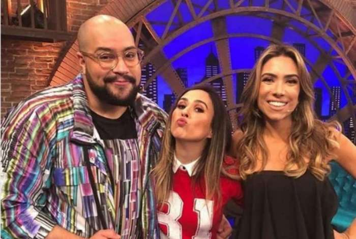 Patrícia Abravanel participou do programa 'Lady Night' de Tatá Werneck com Thiago Abravanel
