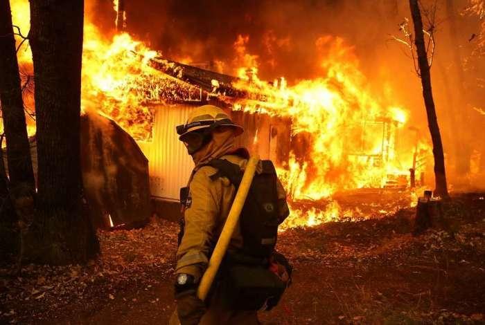Incêndio na Califórnia já deixou mais de 50 mortos