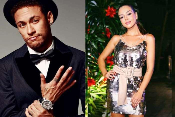 Neymar Jr e Giovanna Lacelotti