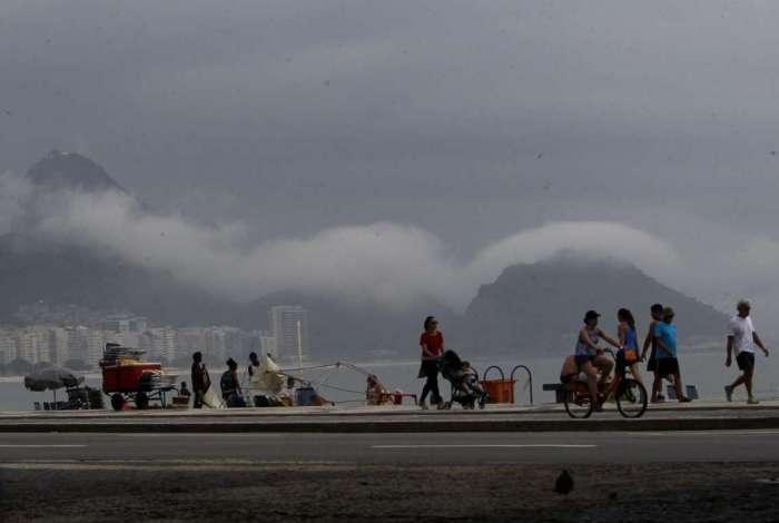 Chuva deve voltar ao Rio e tempo instável dura até domingo