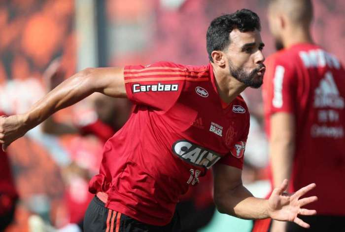Henrique Dourado, atacante do Flamengo