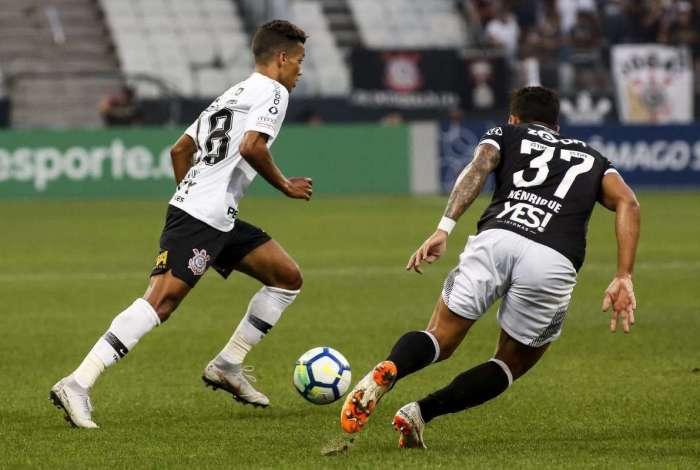 Vasco perdeu para o Corinthians