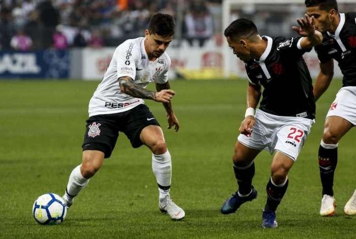 Vasco enfrentou o Corinthians em Itaquera